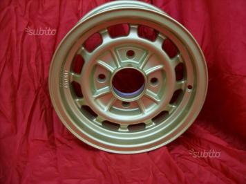 Cerchi Lancia Fulvia HF 1' serie 6x13 gold (3)