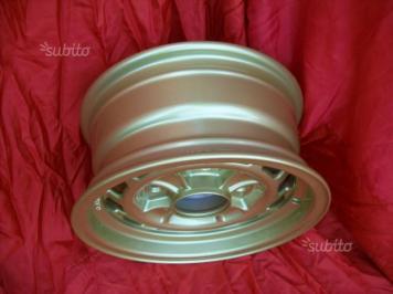 Cerchi Lancia Fulvia HF 1' serie 6x13 gold (8)