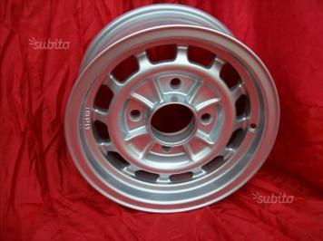 Cerchi Lancia Fulvia HF 1' serie 6x13 silver (3)