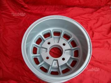 Cerchi Lancia Fulvia HF 1' serie 6x13 silver (5)